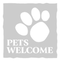 Pets are welcome - Pet friendly
